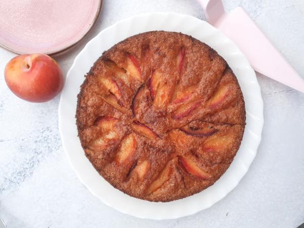 עוגת שזיפים ללא גלוטן