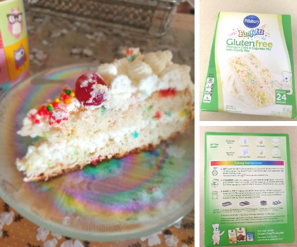 Pillsbury Gluten-Free cake