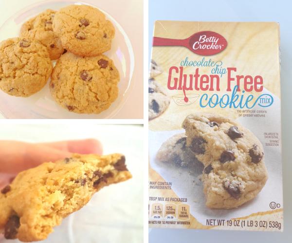 Betty Crocker chocolate chip cookies