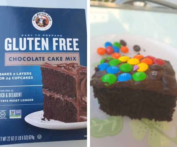 עוגת שוקולד ללא גלוטן קינג ארתור