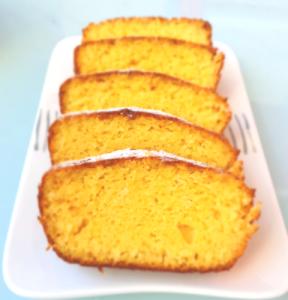 עוגת תפוזים ללא גלוטן מקמח תירס