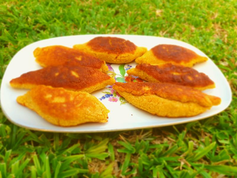 Gluten-Free Chickpea Flour Piroshki With Cabbage