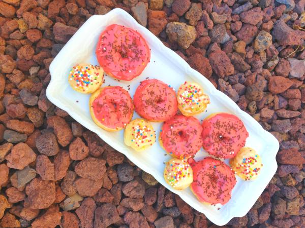 Gluten-Free Farmer's Cheese Donuts