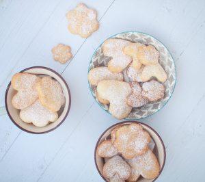 עוגיות חמאה ללא גלוטן- קמחי מקור מול תערובת קמחים