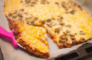 פיצה מקמח כוסמת