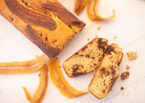 עוגת בננות, טחינה ושוקוצ'יפס ללא גלוטן