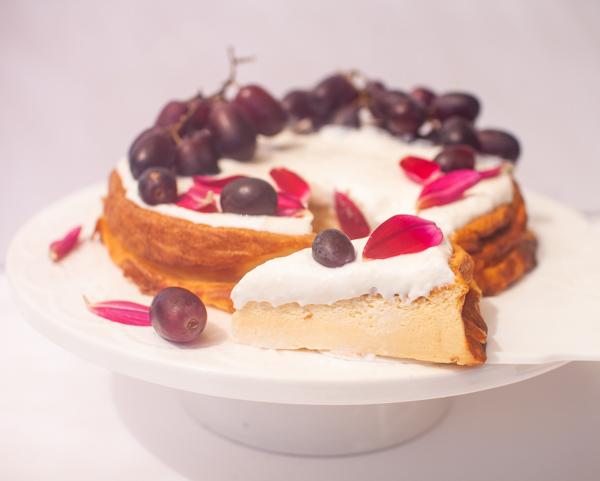עוגת גבינה ללא קמח מ-5 מרכיבים