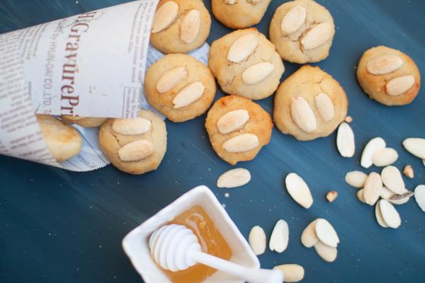 עוגיות שקדים ללא גלוטן מ-3 מרכיבים
