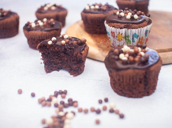 מאפינס שוקולד מקמח כוסמת