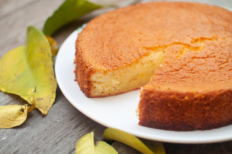 עוגת ספוג תפוזים ללא גלוטן