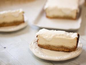 עוגת גבינות רזות קלילה ללא גלוטן