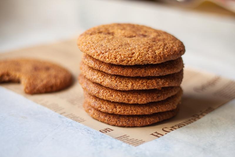 עוגיות שקדים קינמוניות ללא גלוטן
