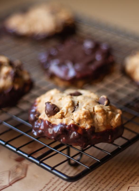 עוגיות שיבולת שועל וקמח כוסמת ללא גלוטן