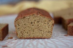 לחם טף שקדים ללא גלוטן וסוכר