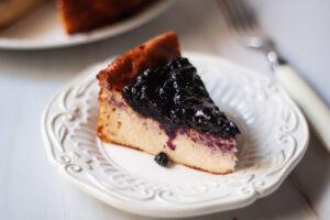 עוגת גבינה ללא קמח דלת קלוריות